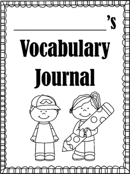 Vocabulary Journal for All Subjects