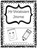 Vocabulary Journal with Self-Assessment Rubric