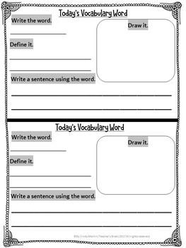 #hellosummer Vocabulary Kindergarten - 3rd YEARLONG Reading Blocks Program