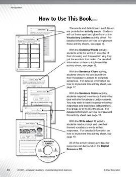 Vocabulary Ladders--Understanding Word Nuances Level 2 (eBook)