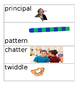 Vocabulary Frog Street Theme 1 Weeks 1-4