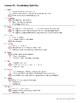 Vocabulary Lesson 39