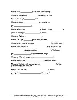 Vocabulary Lesson- Bi-lingual, English/Spanish GET- Online translator use.