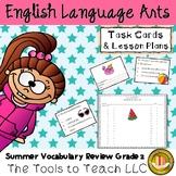 Summer Review Vocabulary Grade 1 English Language Arts Literacy