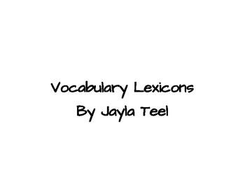 Vocabulary Lexicon