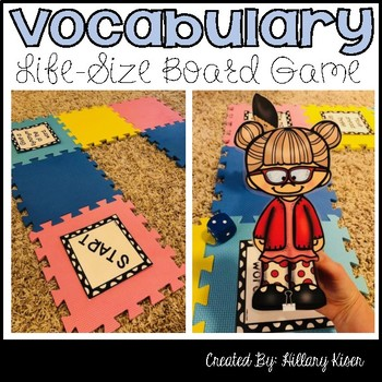 Vocabulary Life-Size Board Game