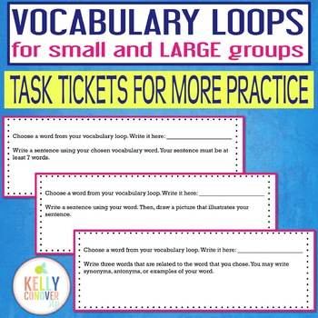 Vocabulary Loops For Small & Large Speech Therapy Groups