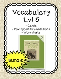 Vocabulary Lvl 5 Bundle