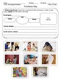 Wonders Vocabulary Map and Illustrations Units 1-6  (4th G