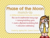 Vocabulary Match - Phases of the Moon