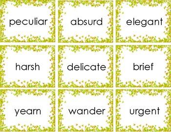 Vocabulary Match Up