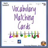 Vocabulary Matching Cards
