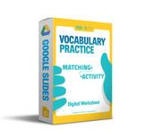 Vocabulary Matching Digi-Handout | Google Slides | Editabl