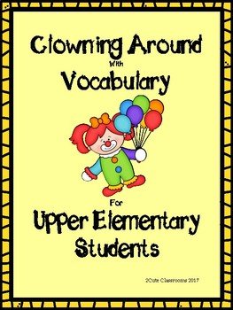 Vocabulary Matching Game for Middle School Students