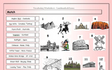 ESL EFL Vocabulary Matching Worksheet - Landmarks & Icons