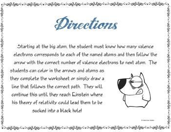 Science Maze Valence Electrons