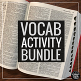 Vocabulary Epic Bundle: Editable Program & Activities for Secondary ELA