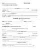 Vocabulary Meiosis worksheet / Fill in the Blanks