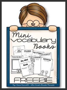 Vocabulary Mini Book