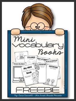 Vocabulary Mini Book