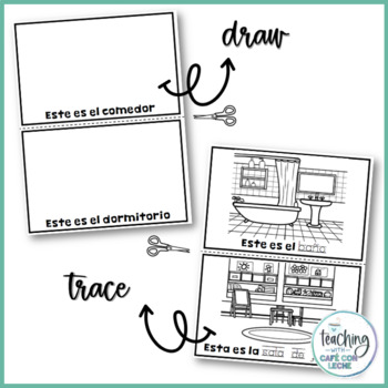 Vocabulary Mini Book Bundle in Spanish