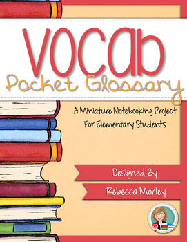 Vocabulary Mini Notebooking Kit
