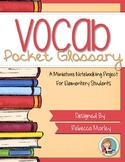 Vocabulary Mini Notebooking Kit