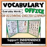 Vocabulary Mini Office Picture Dictionary   ESL Vocabulary