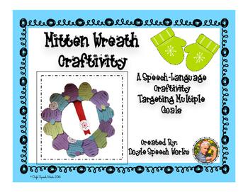 Vocabulary Mitten Wreath