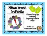 Vocabulary Mitten Wreath