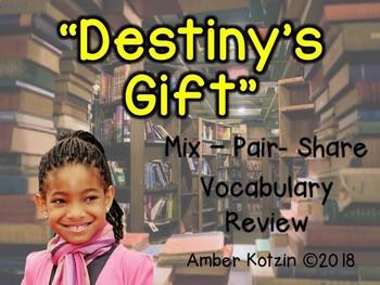 Vocabulary Mix-Pair-Share Game: Destiny's Gift Journeys 3rd Grade