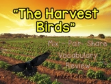 Vocabulary Mix-Pair-Share Game: The Harvest Birds Journeys 3rd Grade