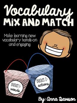Vocabulary Mix and Match
