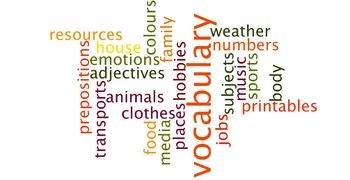 Vocabulary Narrative Prompt