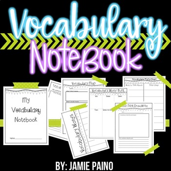 *Vocabulary Notebook*