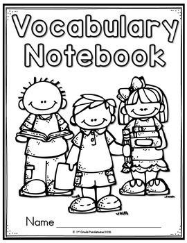 Vocabulary Notebook Grades 1-3