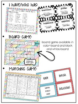 Vocabulary Notebook {2nd 6 weeks}