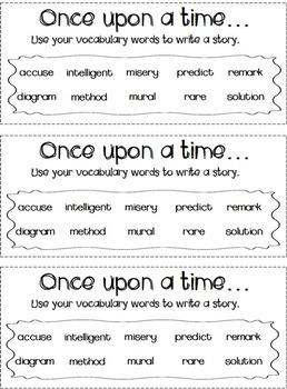 Vocabulary Notebook -- CCSS Grade 3 Tier 2 Words