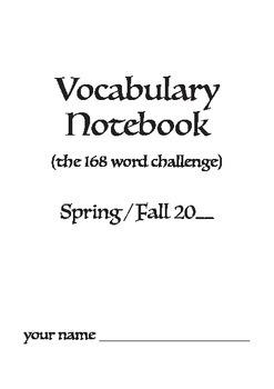 Vocabulary Notebooks