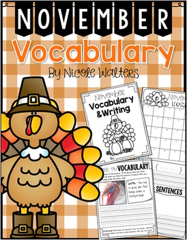 Vocabulary - November