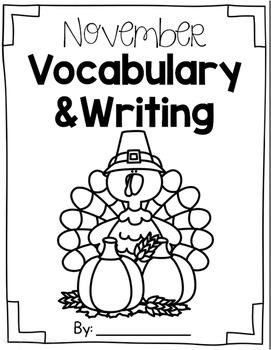 Vocabulary - November
