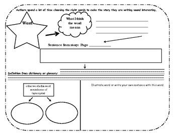 Vocabulary Organizer: Extend and Apply