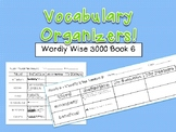 Vocabulary Organizer - Wordly Wise 3000 Book 6