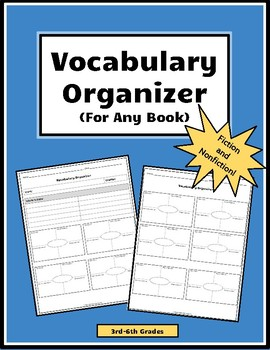 Vocabulary Organizer (for any book)