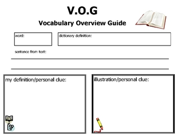 Vocabulary Overview Guide