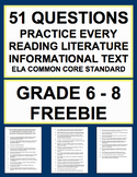 Common Core Reading Literature & Informational Texts Focus