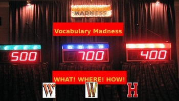 Vocabulary : Paperless Weekly Exercise
