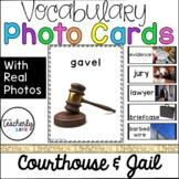 Vocabulary Photo Cards - Courthouse & Jail