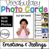 Vocabulary Photo Cards - Emotions & Feelings