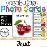 Vocabulary Photo Cards - Fruit